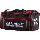 AllMAX Nutrition Premium Fitness Gym Bag Black/Red