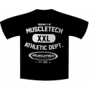 MuscleTech Athletic Dept. T-Shirt - Medium Black