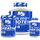 Muscle & Strength Nutrition Muscle Building Foundation Stack
