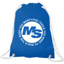 Muscle & Strength Iconic Drawstring Bag 1 Bag Blue
