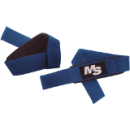 Muscle & Strength Clothing Padded Lifting Straps 1 Blue Pair