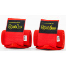 Spud Inc. Cotton Wrist Wraps 30cm Red