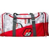 ProSupps Hex Camo Gym Bag - 1 Bag Grey/Red