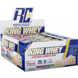 King Whey Protein Crunch Bar, 12ct
