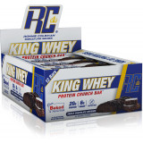 Ronnie Coleman King Whey Protein Crunch Bar Box of 12 Triple Chocolate Brownie