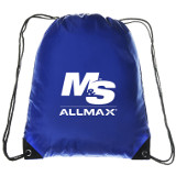 Blue M&S AllMAX Drawstring Bag