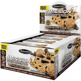 MuscleTech Mission1 Protein Bars Box of 12 Cookie Dough