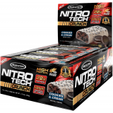 MuscleTech Nitro-Tech Crunch Bar Box of 12 Cookies & Cream