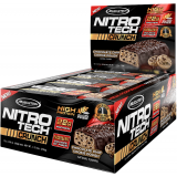 MuscleTech Nitro-Tech Crunch Bar Box of 12 Chocolate Chip Cookie Dough