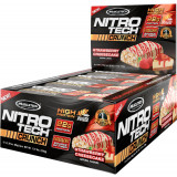 MuscleTech Nitro-Tech Crunch Bar Box of 12 Strawberry Cheesecake