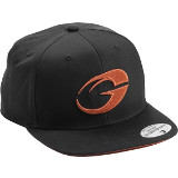 "GASP ""No Compromise"" Hat Orange/Black Hat"