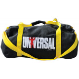 Universal Signature Series Vintage Gym Bag - Black & Yellow