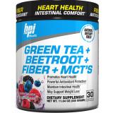Green Tea + Beetroot + Fiber + MCT's