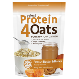 PEScience Select Protein4Oats 12 Servings Peanut Butter & Honey