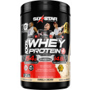 Six Star Elite Series 100% Whey Protein Plus 2lbs Vanilla Cream