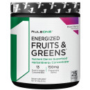 Rule 1 Proteins R1 Energized Fruits and Greens 25 Servings Mixed Berry