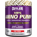 Cutler Nutrition 100% Amino Pump 25 Servings Fruit Punch