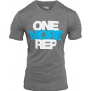 BPI Sports One More Rep V-Neck M Dark Heather Gray