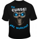 Cobra Labs Curse! Skull Tee Medium Blue
