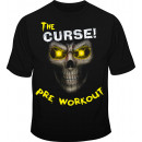 Cobra Labs Curse! Skull Tee Medium Yellow