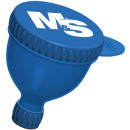 Muscle & Strength Medium Fill-N-Go Funnel 1 100mL Blue Funnel