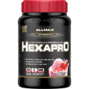 AllMAX HexaPro Protein Blend 3lbs Strawberry