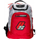ProSupps Hex Camo Backpack 1 Bag Grey/Red