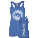 Muscle & Strength Clothing Women's Seal Tank XSmall Blue