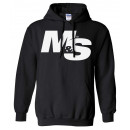 Muscle & Strength Spinal Hoodie XXL Black