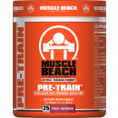 Muscle Beach Nutrition Pre-Train 25 Servings Fruit Infusion