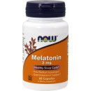 NOW Foods Melatonin 3mg - 60 Capsules
