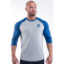 Better Bodies Men's Baseball Tee Small Navy
