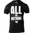 BPI Sports All or Nothing V-Neck Medium Black