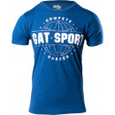 GAT Sport Compete Harder T-Shirt Medium Cool Blue Heather