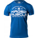Kaged Muscle Innovation At Work T-Shirt Medium Cool Blue Heather