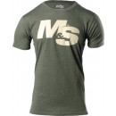 Muscle & Strength Spinal T-Shirt Medium Military Green