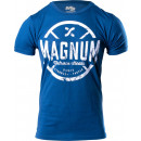 Magnum Nutraceuticals Weightplate T-Shirt Medium Cool Blue Heather