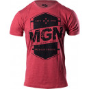 MGN American Original T-Shirt Medium Cardinal Heather