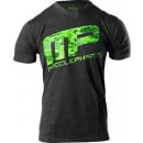 MusclePharm Digicamo Icon V-Neck Medium Charcoal