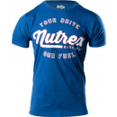Nutrex Your Drive Our Fuel T-Shirt Medium Cool Blue Heather