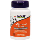 NOW Foods L-Tyrosine 500mg - 60 Capsules