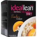 IdealFit IdealLean Oatmeal 7 Count Peaches N' Cream