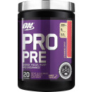 ON Pro Pre 20 Servings Strawberry Burst