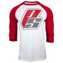 ProSupps Baseball Tee Small Red
