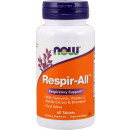 NOW Foods Respir-ALL Respiratory Support 60 Tablets