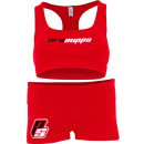 ProSupps Sports Bra & Shorts XS Red