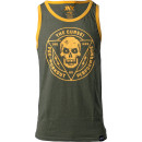 JNX Sports The Curse! Tank Small Military Green/Gold