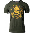 JNX Sports The Curse! Tee Small Military Green/Gold