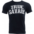 Primeval Labs True Savage T-Shirt Small Black and White