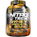 MuscleTech Nitro-Tech Whey Plus Isolate Gold 4lbs Double Rich Chocolate